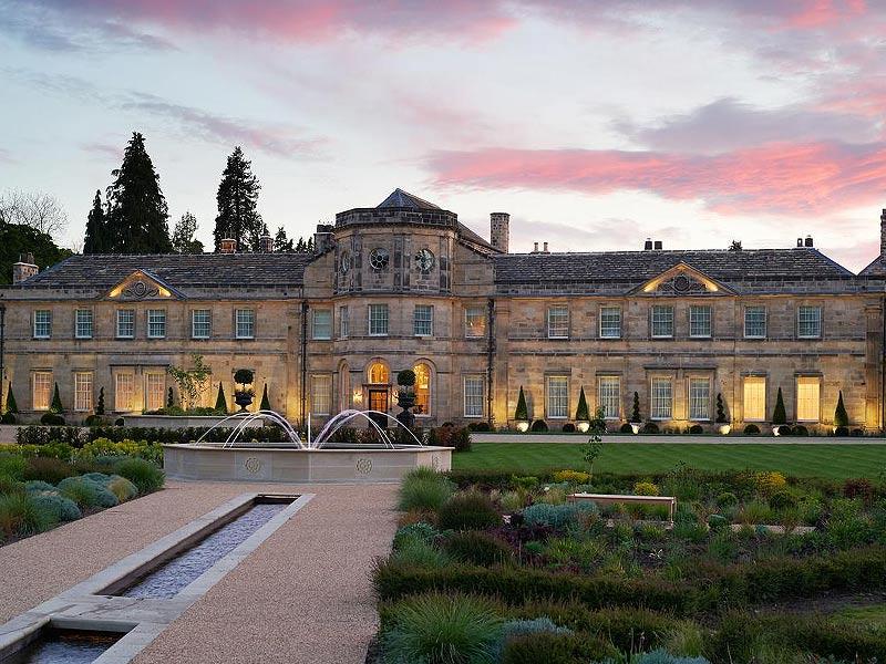 Grantley Hall, Luxury Spa Hotel, Ripon.